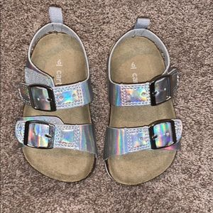 Carter's sandals toddler size 6 great condition